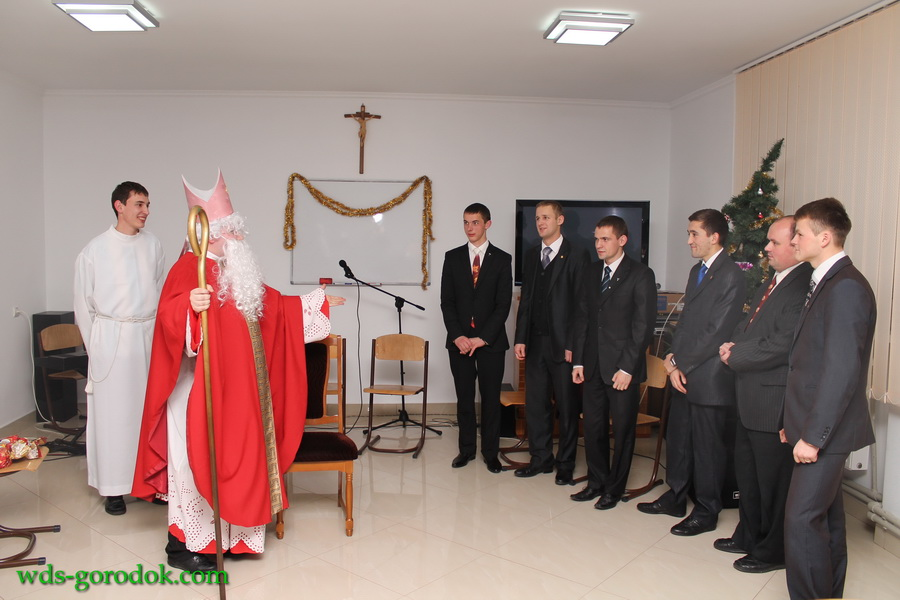 sv. Mykolaj v seminarii 2