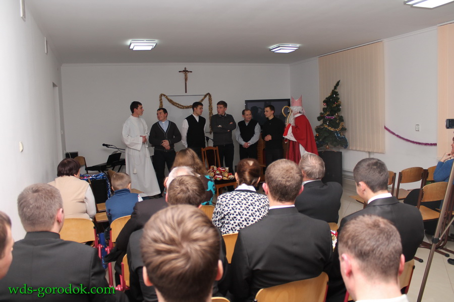 sv. Mykolaj v seminarii 7