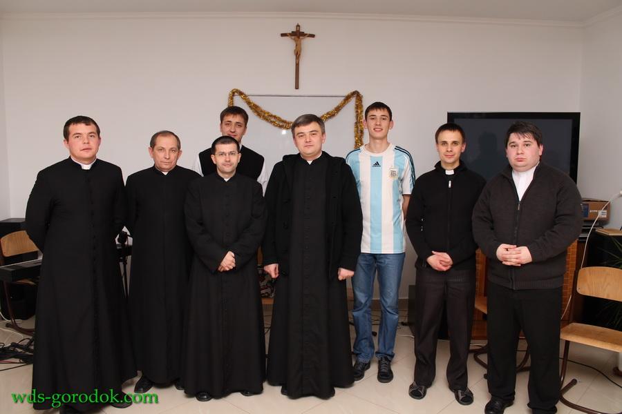 sv. Mykolaj v seminarii 8